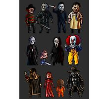 Icons of Horror Photographic Print