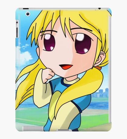 chibi blond girl iPad Case/Skin