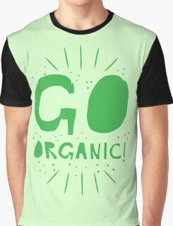 GO ORGANIC@ Graphic T-Shirt