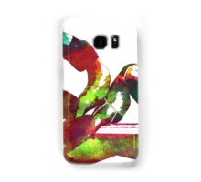 Couple yoga watercolour art Samsung Galaxy Case/Skin