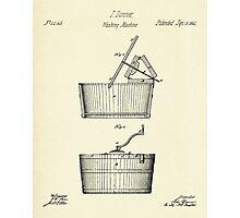 Washing Machine-1864 Photographic Print