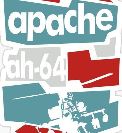 Go Apache Sticker