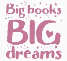 Big books big dreams! One Piece - Short Sleeve