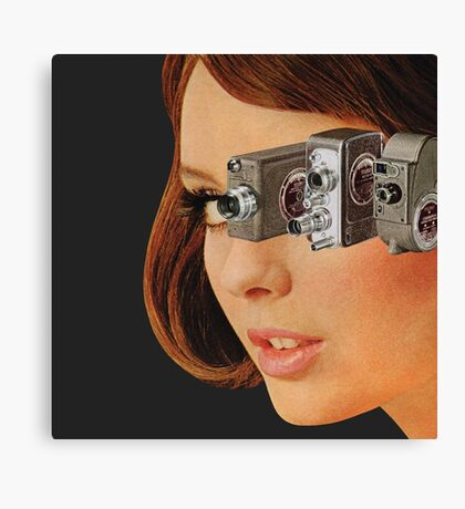 I'm Watching You! Canvas Print