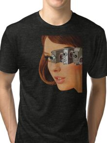 I'm Watching You! Tri-blend T-Shirt