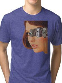 I'm Watching You! Tri-blend T-Shirt