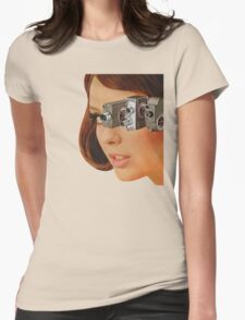 I'm Watching You! Womens Fitted T-Shirt
