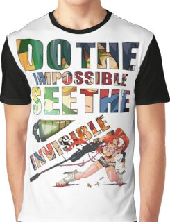 Do The Impossible, See The Invisible - Yoko Graphic T-Shirt
