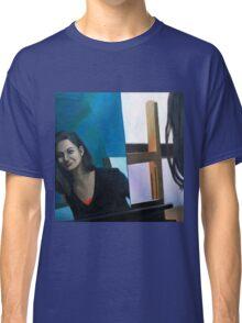 Mirror, 2011, 100-100cm, oil on canvas Classic T-Shirt