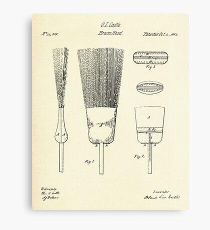 Broom Head-1864 Metal Print