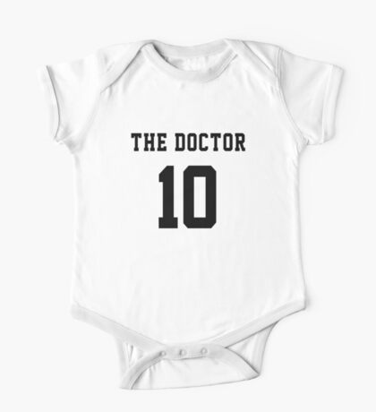 The Doctor - 10 One Piece - Short Sleeve