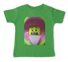 Lego Plant Monster minifigure Baby Tee