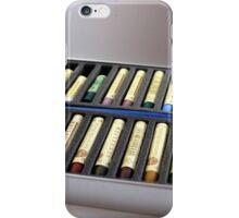 Oil Pastels iPhone Case/Skin