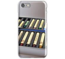 Oil Pastels iPhone Case/Skin