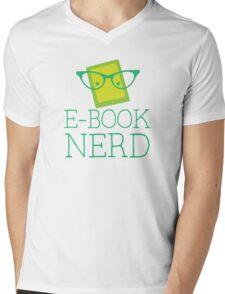 e-book nerd Mens V-Neck T-Shirt