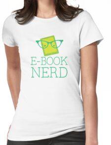 e-book nerd Womens Fitted T-Shirt