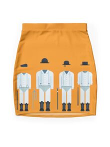 Clockwork Squad Mini Skirt