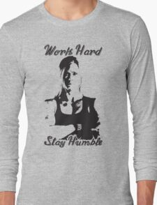 Work Hard, Stay Humble (Holly Holm) Long Sleeve T-Shirt