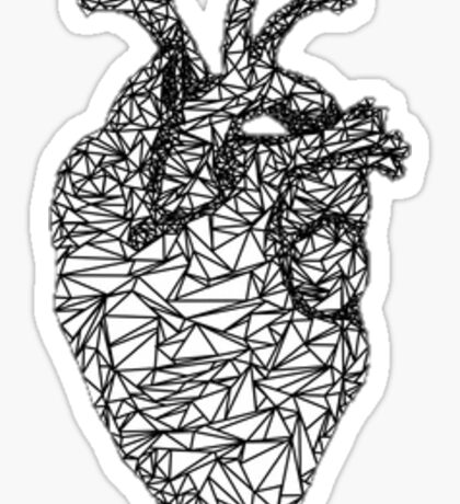 Wire Heart Sticker