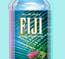Fiji Water vaporwave  Sticker