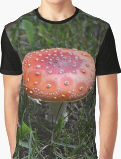 Amanita Muscaria (Fly Agaric Mushroom) Graphic T-Shirt