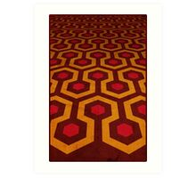 Overlook's Carpet Art Print