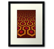 Overlook's Carpet Framed Print