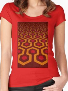 Overlook's Carpet Women's Fitted Scoop T-Shirt