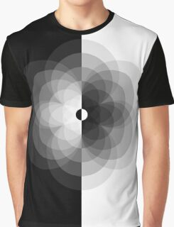 Modern Yin Yang Graphic T-Shirt