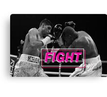 Fight - Boxing Canvas Print