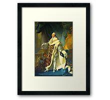 Louis XVI At Versailles Framed Print
