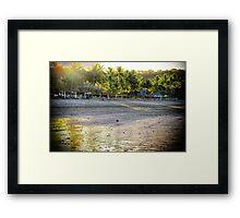 Golden Beach Framed Print