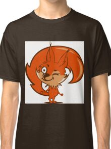 Little red squirrel Classic T-Shirt