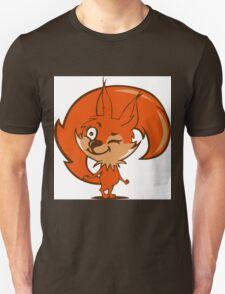 Little red squirrel Unisex T-Shirt