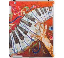 Crazy Fingers Piano Batik by Sue Duda iPad Case/Skin