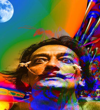 Dream of Salvador Dali Sticker