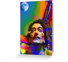 Dream of Salvador Dali Greeting Card