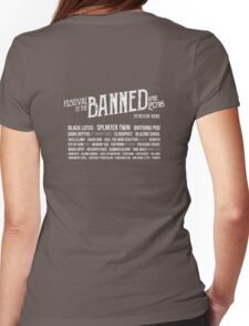 Festival of the Banned Womens Fitted T-Shirt
