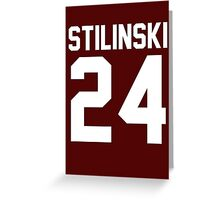 Teen Wolf - Stilinsky 24 Greeting Card
