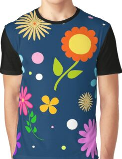 pattern of flowers Graphic T-Shirt