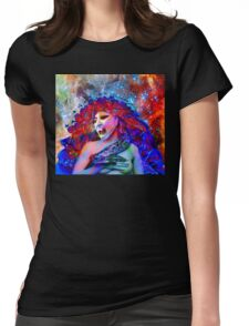 Space Vampire Womens Fitted T-Shirt