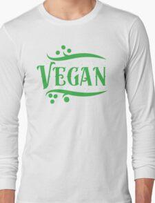 VEGAN (word) Long Sleeve T-Shirt