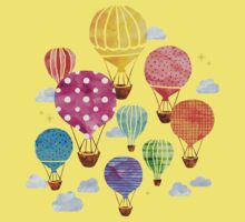 Hot Air Balloon Kids Tee