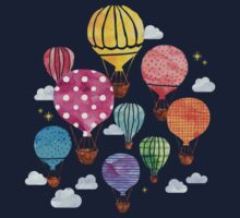 Hot Air Balloon One Piece - Long Sleeve