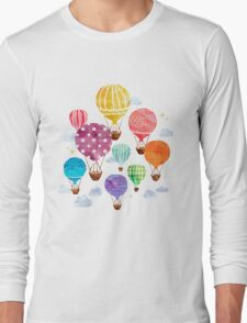 Hot Air Balloon Long Sleeve T-Shirt