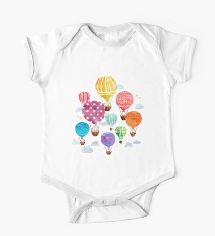 Hot Air Balloon One Piece - Short Sleeve
