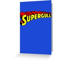 Supergully Greeting Card