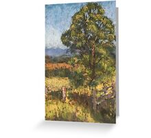Beechwood - plein air Greeting Card