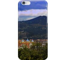 View Of Cuenca From The North Hill III iPhone Case/Skin