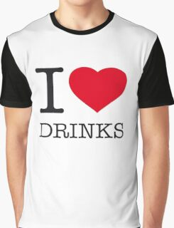 I ♥ DRINKS Graphic T-Shirt